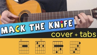 Mack the knife // Cover // Lesson // Fingerstyle // Tutorial // Tabs // Tab // How to play