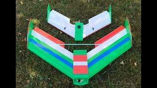 Летающее крыло 1200 (Альнадо) Тестовый полет.