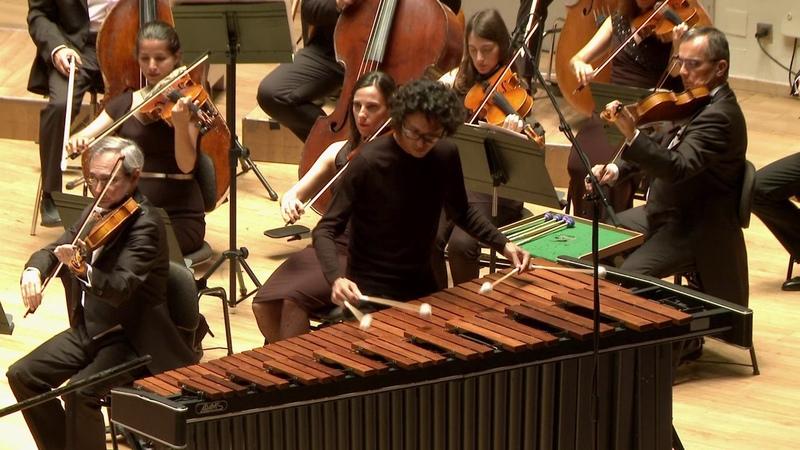Double concerto for Marimba Vibraphone and Orchestra E Séjourné