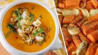 Суп-пюре из запеченной моркови (CookingTime)