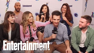 Agents of .: The Cast Reveals Their Favorite Scenes | SDCC 2018 | Entertainment Weekly