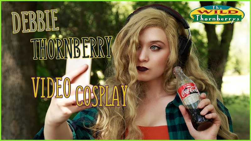 Дебби Торнберри в реальной жизни Debbie Thornberry video cosplay