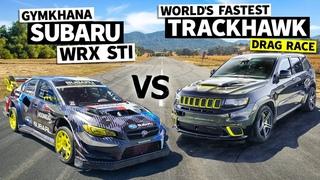 Can a 1,080hp Jeep Beat Travis Pastrana's Gymkhana Subaru? // Flying Finish