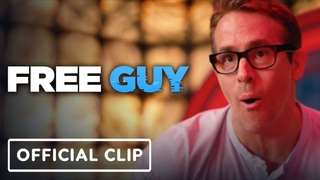 Free Guy - Exclusive Official Clip (2021) Ryan Reynolds, Jodie Comer   IGN Premiere
