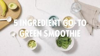 5 ingredient green smoothie recipe   Oriflame