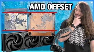 AMD Ryzen Offset Mount: 420mm Arctic Liquid Freezer II CPU Cooler Review (New Best)