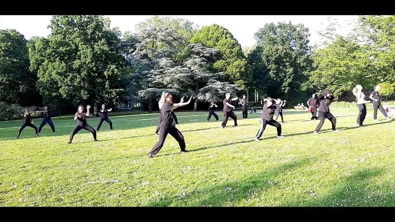 Self practice Tiger Crane double form 'Opening' 初級班自練 虎鶴開樁