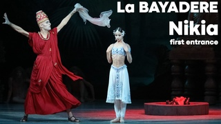 La BAYADERE - Nikia First Entrance - Maria Khoreva & Soslan Kulaev - Mariinsky Theatre