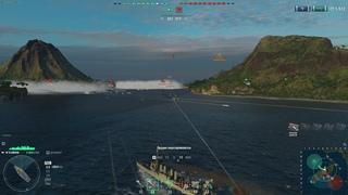 Рофл в World of Warships. Нуб на эминце
