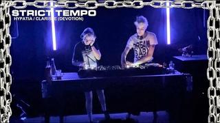 DVTN / Devotion - Hypatia b2b Clarisse - Strict Tempo  (EBM, Coldwave, Dark Dance, Italo)